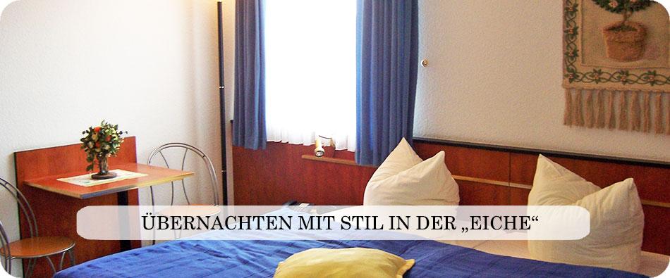 Zur Eiche - Brandenburgs beliebtes Garni Hotel / Pension
